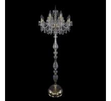 Торшер Bohemia Crystal 1403T1/8+4/195-165/G