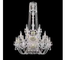 Люстра Хрустальная Bohemia Crystal 1402/16+8+4/300/h-123/3d/G