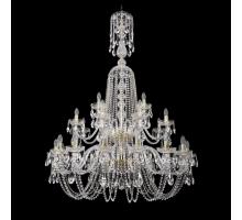 Люстра Хрустальная Bohemia Crystal 1402/16+8+4/400/XL-160/2d/G