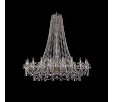 Люстра Хрустальная Bohemia Crystal 1411/20/530/h-157/G