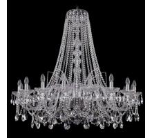 Люстра Хрустальная Bohemia Crystal 1411/18/400/h-113/Ni