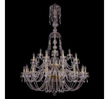 Люстра Хрустальная Bohemia Crystal 1406/16+8+4/400/XL-162/2d/G