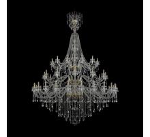 Люстра Хрустальная Bohemia Crystal 1415/24+12+12/900/XLU-320/3d/