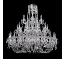 Люстра Хрустальная Bohemia Crystal 1402/20+10+5/360/3d/Ni