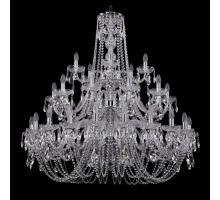 Люстра Хрустальная Bohemia Crystal 1402/20+10+5/400/3d/Ni