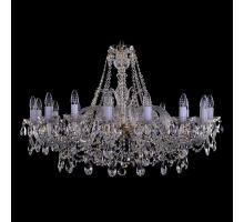 Люстра Хрустальная Bohemia Crystal 1411/16/360/G