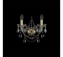 Бра Bohemia Crystal 1411B/2/141/G