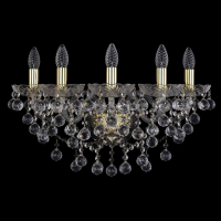 Бра Bohemia Crystal 1409B/5/195/XL/G