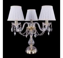 Настольная лампа Bohemia Crystal 1406L/3/141-39/G/SH13A