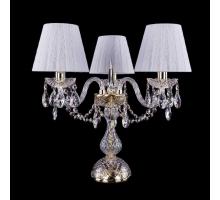 Настольная лампа Bohemia Crystal 1406L/3/141-39/G/SH13