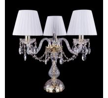 Настольная лампа Bohemia Crystal 1406L/3/141-39/G/SH2
