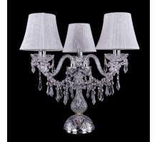 Настольная лампа Bohemia Crystal 1403L/3/141-39/Ni/SH41