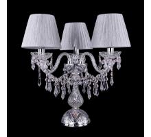 Настольная лампа Bohemia Crystal 1403L/3/141-39/Ni/SH6