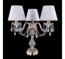 Настольная лампа Bohemia Crystal 1406L/3/141-39/G/SH2A