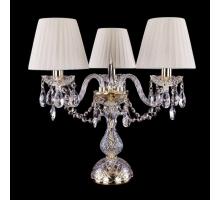 Настольная лампа Bohemia Crystal 1406L/3/141-39/G/SH3