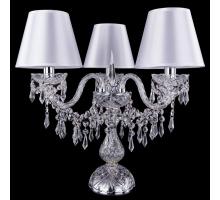 Настольная лампа Bohemia Crystal 1403L/3/141-39/Ni/SH21